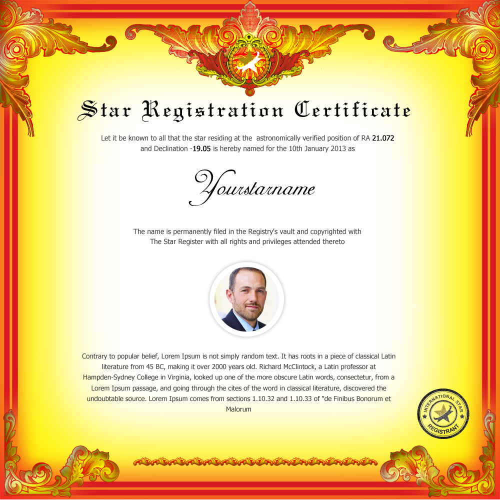How to name a star online star registry name of the stars design 5 yadclub Image collections